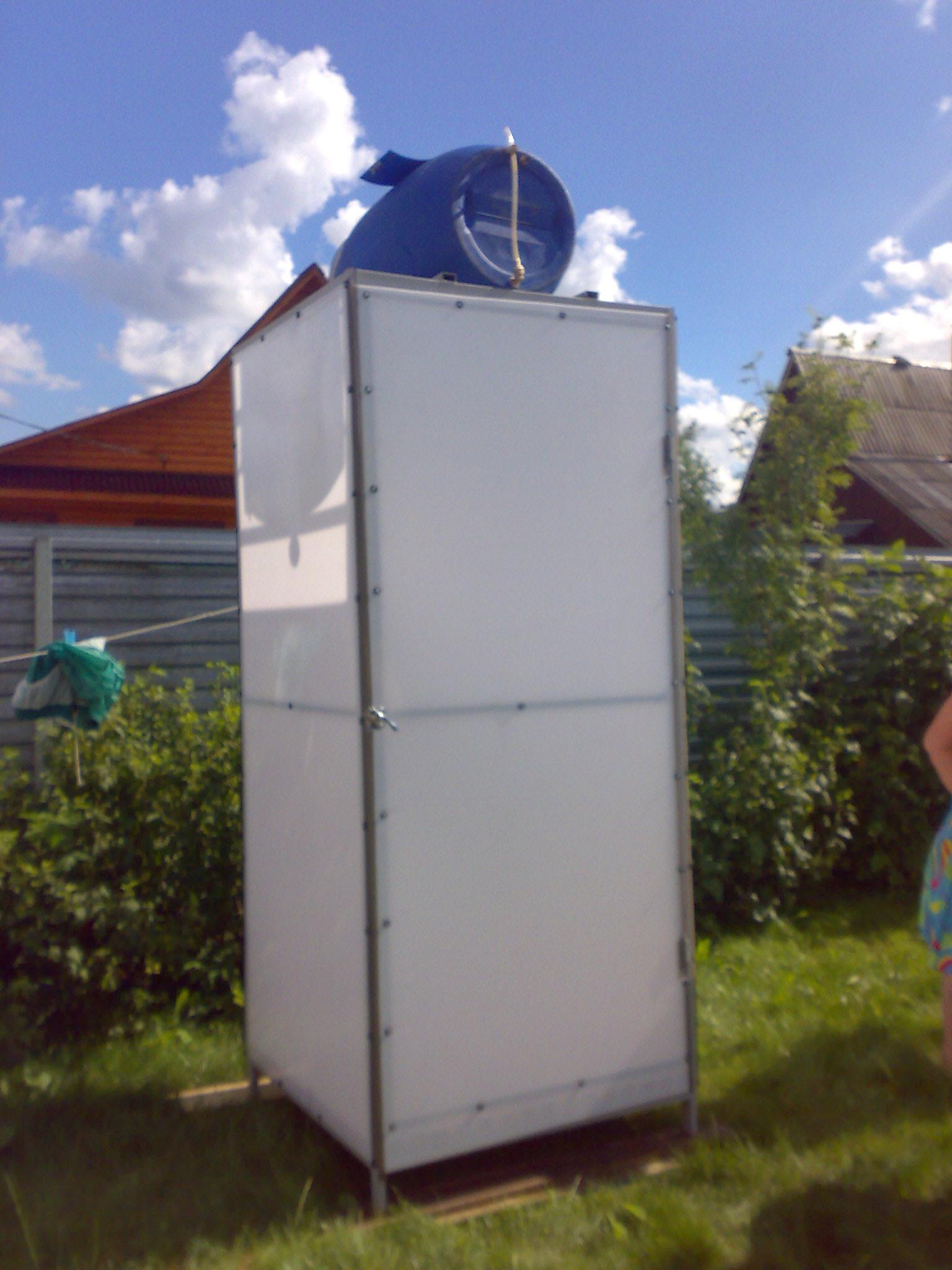Самый простой летний душ своими руками 84